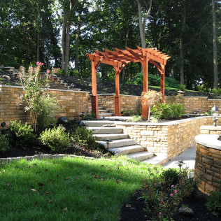landscape design newtown square, pa