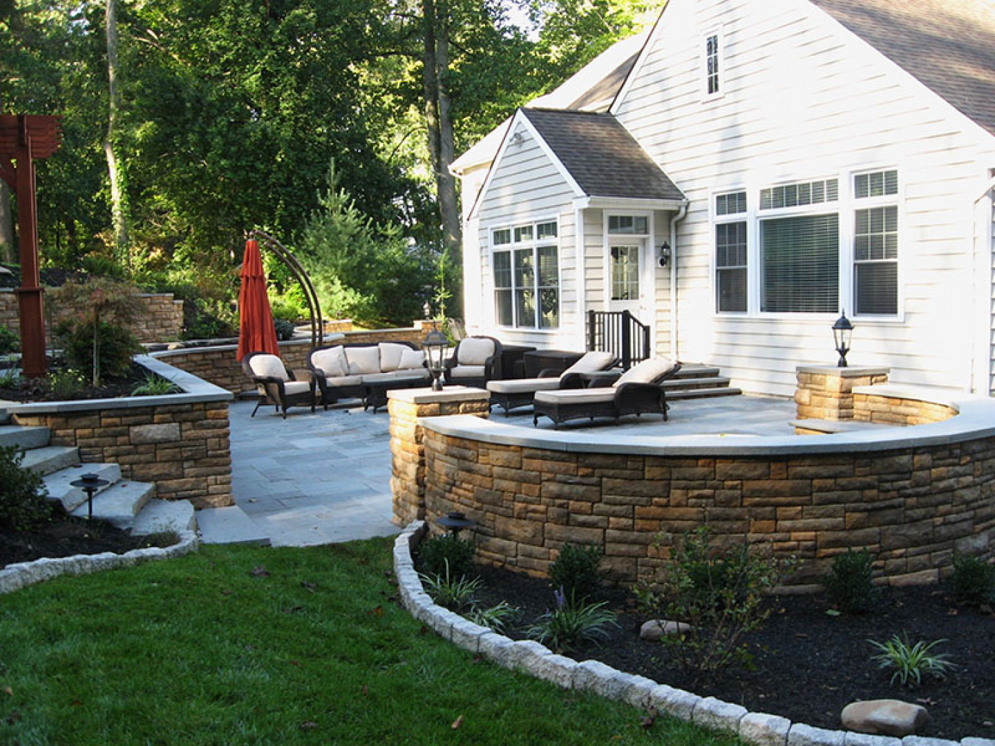 Installing a Hardscape Is Simple With Greenstone Gardens